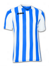 Copa Blue/White Short Sleeve Shirt